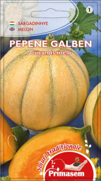 Pepene galben Briliant (2 g), seminte de pepene galben soi timpuriu, rezistent la crapare si transport, Kertimag