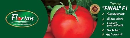 Rosii Final F1 (100 seminte) de tomate extratimpurii semideterminate Florian Bulgaria