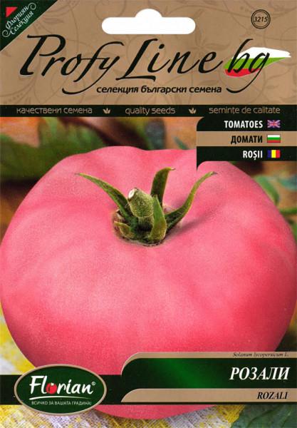 Rozali seminte rosii (1 gr), soi de tomate roze mari, nedeterminat tip Gigant, Florian