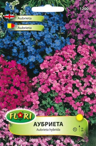 Aubrieta Mix - Seminte Flori Aubrieta Mix de la Florian