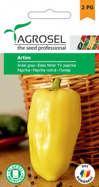 Artim seminte ardei gras (2000 seminte) soi timpuriu, Agrosel