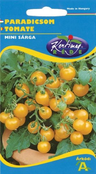Seminte rosii Mini sarga (0.5 gr), de tip cherry, Kertimag