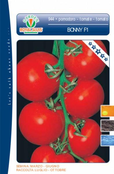 Bonny F1 (60 seminte) rosii cu crestere nedeterminata, extratimpurii, Royal Sluis