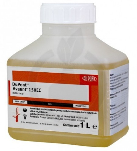 Insecticid Avaunt 150 SC (1 L), combatere insecte daunatoare, Du Pont