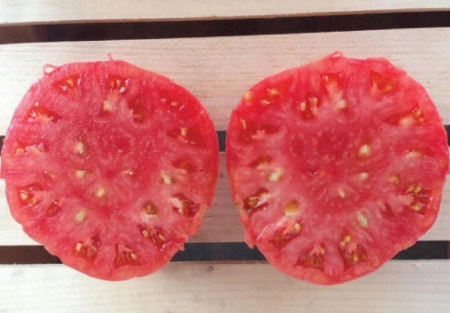 Malinowy Ozarowski (300 seminte) tomate tip Gigant Roz nedeterminate, gust de odinioara, origine Polonia
