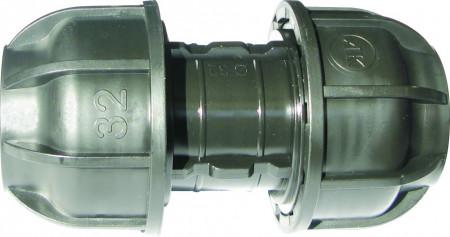 Mufa compresie Ø75 x Ø75 irigatii din plastic de calitate superioara, Palaplast