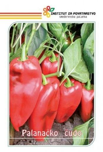 Ardei Capia PALANACICO CUDO (Minunea Palanacko) (150 seminte) soi foarte mare