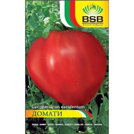 Inima Rosie de Bulgaria (Cuore di Bue di Bulgari) 50 seminte de Tomate Nedeterminate Semitardive, Biosem