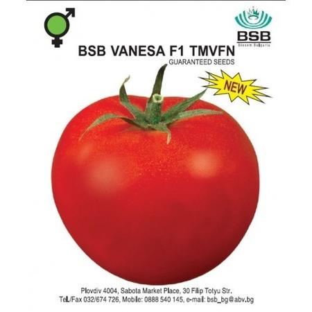 Vanesa F1 – 0.5 gr – Seminte Organice BIO de Rosii Nedeterminate Extratimpurii de la Biosem Bulgaria