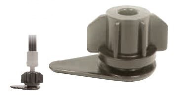 Adaptor 8 mm furtun Layflat irigatii din plastic de calitate superioara, Palaplast