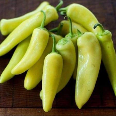 Ardei gras Hungarian Sweet Wax (1 kg), seminte de ardei gras soi productiv, pulpa carnoasa, gustoasa, dulce, Agrosem