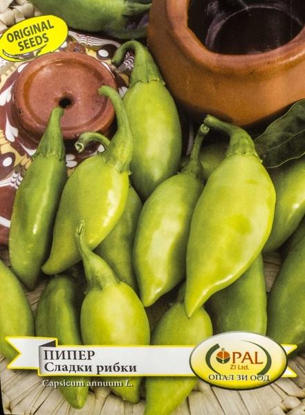 Pestisori Dulci (Sladki Ribki) - 50 gr - Seminte Ardei Semi-Iute Dulce de Dimensiuni Mici 5-8 cm