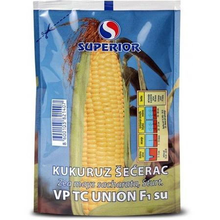 Union f1 - 50 gr - Seminte de Porumb Zaharat Extrem de Dulce de la Superior Serbia