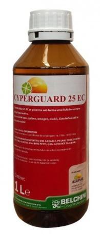 Insecticid Cyperguard 25 EC (1 Litru), combatere spectru larg de insecte
