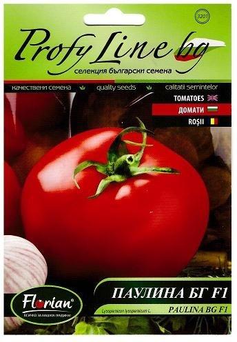 Rosii PAULINA BG F1 - 0.5 gr - Seminte de rosii Hibrid nedeterminat Forian Bulgaria