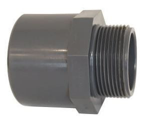 "Adaptor PVC FE 50x63x2"" irigatii din plastic de calitate superioara, Palaplast"