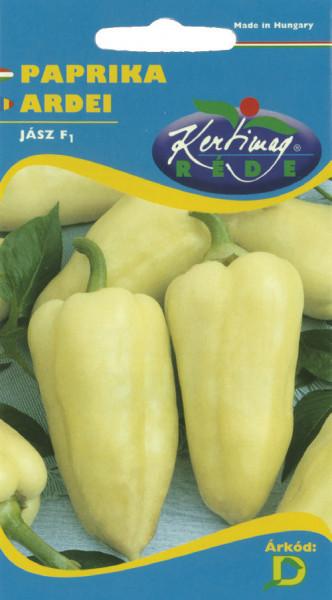 Ardei Jasz F1 (20 seminte), seminte de ardei usor iute, hibrid foarte productiv nedeterminat, Kertimag