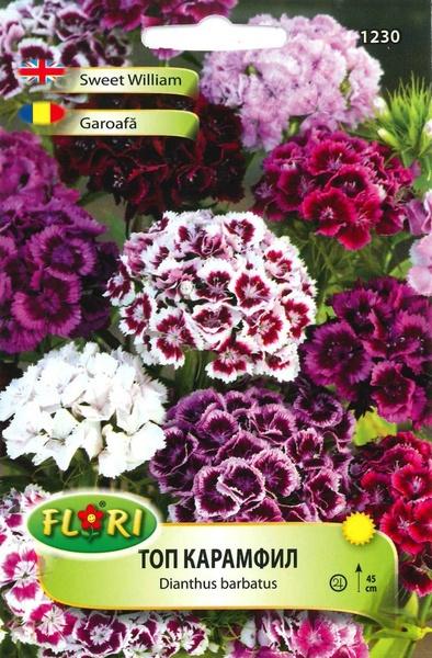 Garoafa Top Mix - Seminte Flori Garoafa Top Mix de la Florian