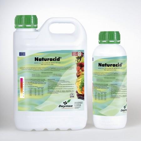 Ingrasamant lichid Naturacid (1 L), fertilizator cu azot si fosfor reglare Ph, Daymsa