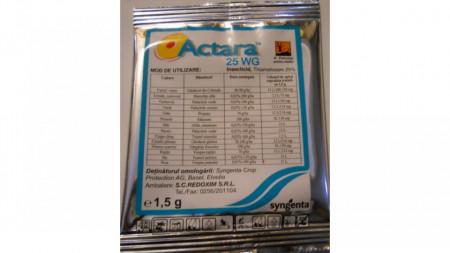 Insecticid sistemic cu efect de lungă durată Actara 25 WG (250 gr), Syngenta
