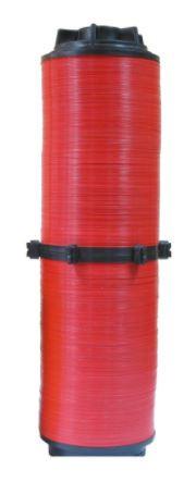 """Rezerva disc 120 mesh filtru 2"""" rosu din plastic de calitate superioara, Palaplast"""