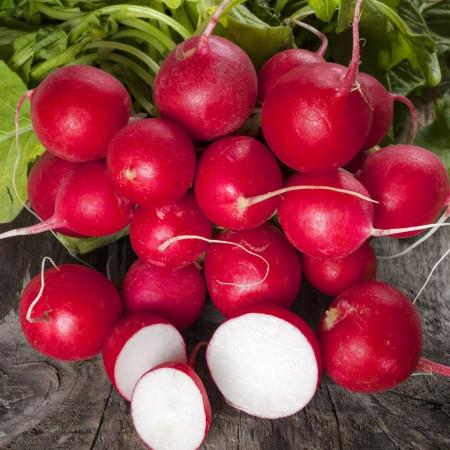 Ridichi de luna Cherry Belle (5 g), seminte de ridichi de luna fragede si crocante, Mefim Agro