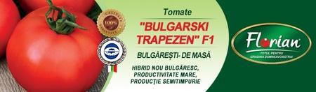 Rosii Bulgarski Trapezen F1 - 50 sem - Seminte de rosii nedeterminate timpurii Florian Bulgaria