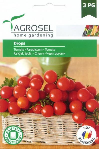 Seminte rosii Drops (0.75 gr), tip cherry, Agrosel