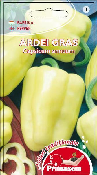 Ardei gras Dariana (0,5 g), seminte de ardei gras soi productiv semitimpuriu, Kertimag