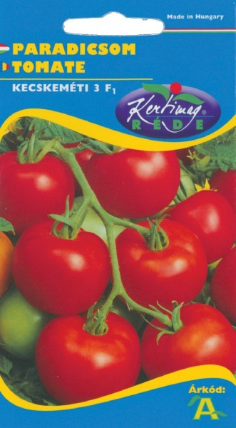 Rosii Kecskeméti 3 F1 (20 seminte), hibrid timpuriu de rosii unguresti, cu crestere determinata si gust foarte bun, Kertimag