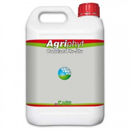 Biostimulator foliar cu zinc si mangan Agriphyt Contact ZnMn (5 L), AgriTecno