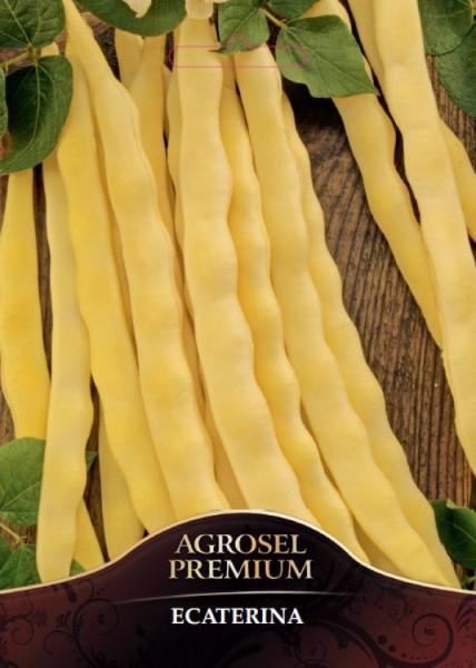 Ecaterina fasole urcatoare (25 kg) seminte fasole urcatoare cu pastaie lata, galbena, Agrosel