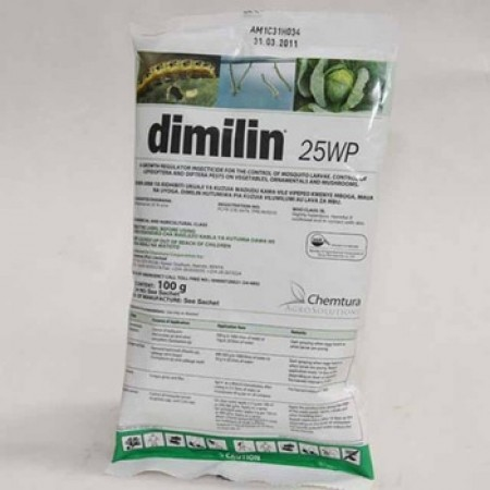 Insecticid Dimilin 25 WP (50 gr), actionare prin ingestie, Chemtura