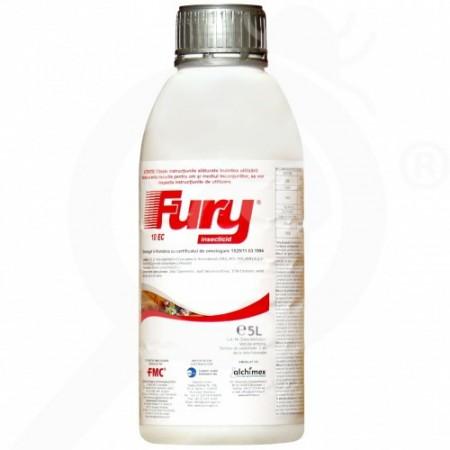 Insecticid Fury 10 EC (5 L), spectru larg combatere daunatori, Sumi Agro
