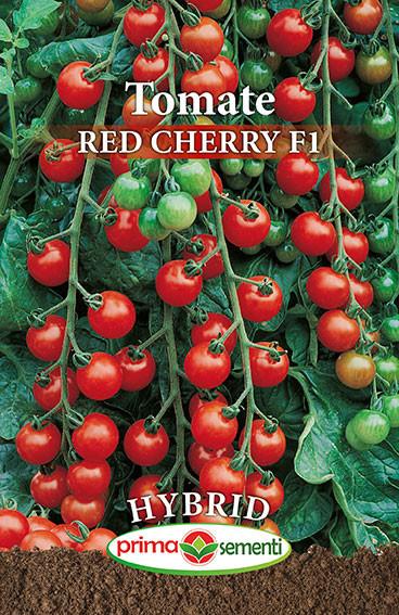 Red Cherry F1 (150 seminte) de tomate cherry hibrid nedeterminat, greutate fruct 20-25 gr, Prima Sementi