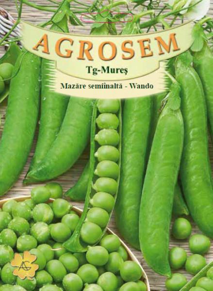 Wando (100 gr) seminte de mazare semiinalta, soi semitimpuriu, Agrosem