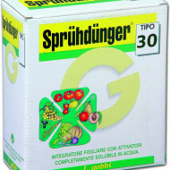 Ingrasamant foliar radicular Spruhdunger Tipo 30 (8-19-38+ micro) (100 g), L. Gobbi