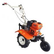 Motocultor cu motor termic New 750 Eco / 212 cm³ / 60-80 cm / 7 CP cu roti cauciuc, O-Mac