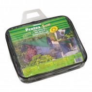 Panza pentru umbrire Protex Sun Stocker verde 3,6 x 3,6 m
