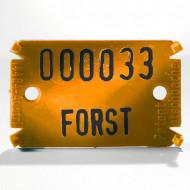 Placute de marcare Signumat Typ 02 OS - WE
