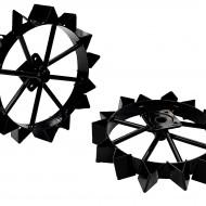 ProGARDEN BT-2R set 2 roti metalice 450x30x75mm, accesoriu BT330/U9/U14