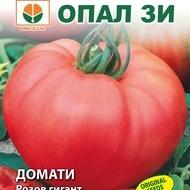 Rosii GIGANT ROZ Bulgaresc (100 sem) soi nedeterminat de rosii bulgaresc 0.5 - 1 kg fruct