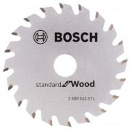 Bosch Panza de ferastrau circular Optiline Wood 85x15x1,1mm, 20