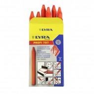 Creta Lyra 797 portocaliu fluorescent (cutie 12 buc)