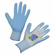 Manusi de gradinarit Keron Garden Care - albastru-deschis