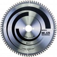 Panza de ferastrau circular Multi Material 250 x 30 x 3,2 mm; 80