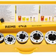 """REMS Clupa filetat Eva Set R 1/2 - 2"""" R 1/2-3/4-1-1 1/4-1 1/2-2"""" 520017"""