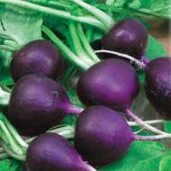 Ridichi de luna Malaga (600 seminte), ridichi violet, pulpa alba, gustoasa, Agrosem