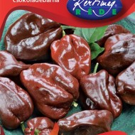 Seminte ardei Habanero ciocolatiu (20 seminte), tip chili, Kertimag