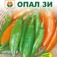 Seminte ardei usor iute Pestisori (Ribki), 5 gr, dimensiuni Mici 8-10 cm, Opal